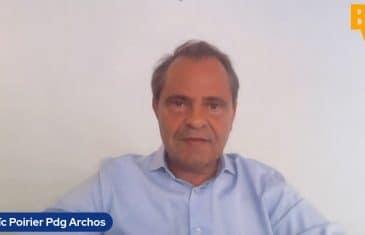 Loïc Poirier Pdg d'Archos (Tous droits réservés 2021 www.labourseetlavie.com)
