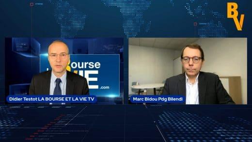 Marc Bidou Pdg Bilendi avec Didier Testot Fondateur de LA BOURSE ET LA VIE TV (Tous droits réservés 2021 www.labourseetlavie.com)