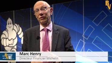 """Marc Henry Directeur Financier Michelin : """"L'agilité c'est un élément clé de la performance"""" : Résultats annuels 2017 du spécialiste des pneumatiques"""