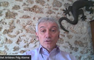 Michel Artières Pdg Ateme (Tous droits réservés 2021 www.labourseetlavie.com)