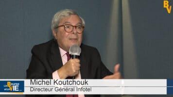 """Michel Koutchouk Directeur Général Infotel : """"On voit apparaître des cibles d'acquisition"""""""