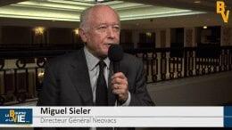 """Miguel Sieler Directeur Général Neovacs : """"Nous sommes dans le trio de tête des entreprises dans le développement clinique pour le lupus"""" : La Web Tv rencontre les dirigeants au Paris - European Large et Midcap Event"""