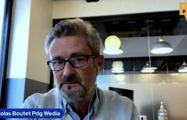 Nicolas Boutet Pdg Wedia (Tous droits réservés 2021 www.labourseetlavie.com)