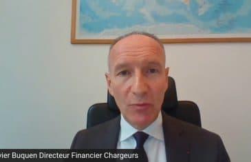 Olivier Buquen Directeur Financier Chargeurs (Tous droits réservés 2021 www.labourseetlavie.com)