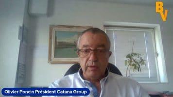 """Olivier Poncin Président Catana Group : """"Une grosse augmentation de la production l'année prochaine avec un carnet de commandes déjà rempli à 80%"""""""