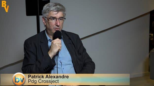 Patrick Alexandre Président du Directoire Crossject (Tous droits réservés 2021 www.labourseetlavie.com)