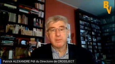 """Patrick Alexandre Président du Directoire de Crossject : """"Nous sommes sur une phase d'exécution"""" : La société basée à Dijon a créé le dispositif d'injection sans aiguille ZENEO®"""