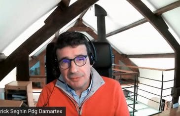 Patrick Seghin, Pdg Damartex (Tous droits réservés 2021 www.labourseetlavie.com)