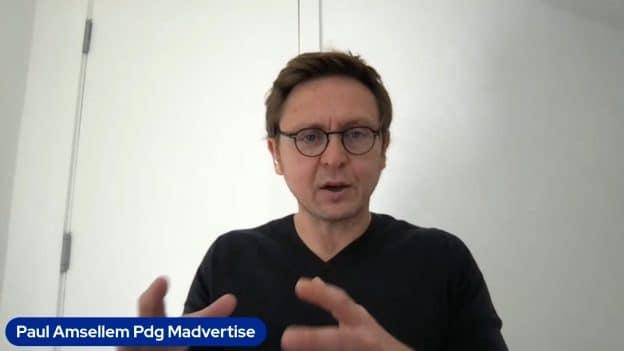 Paul Amsellem Pdg Madvertise (Photo tous droits réservés 2021)