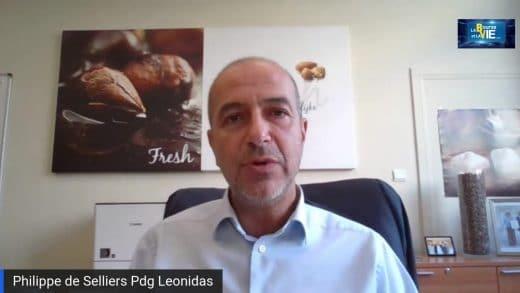 Philippe de Selliers Pdg Leonidas (Tous droits réservés 2021 www.labourseetlavie.com)