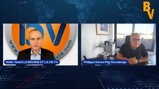 Philippe Genne Pdg Oncodesign avec Didier Testot (Tous droits réservés 2021)