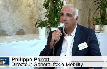 Philippe Perret Directeur Général fox e-mobility (Tous droits réservés 2021 www.labourseetlavie.com)