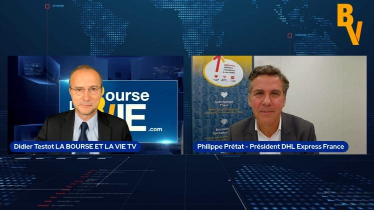 """Philippe Prétat Président DHL Express France : """"Notre activité est très forte"""""""