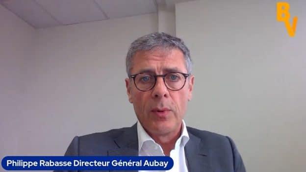 Philippe Rabasse Directeur Général Aubay (Tous droits réservés 2021)