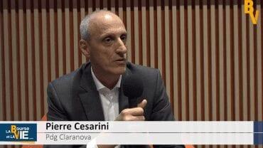"""Pierre Cesarini Pdg Claranova : """"Dans l'IoT, on a construit un écosystème"""" : Résultats annuels 2017-2018"""
