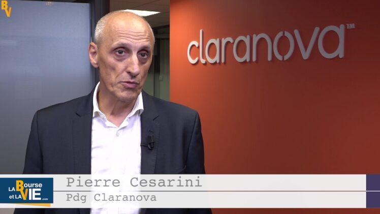 """Pierre Cesarini Pdg Claranova : """"La visibilité reste bonne"""""""