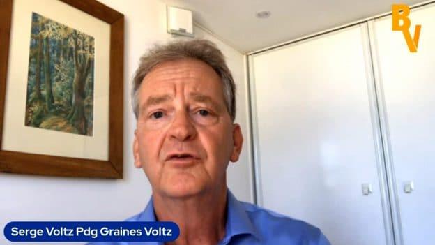 Serge Voltz Pdg Graines Voltz (Tous droits réservés 2021 www.labourseetlavie.com)