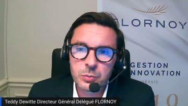 """Teddy Dewitte Directeur Général Délégué Flornoy : """"Nous sommes rentrés sur l'obligataire notamment sur des crédits"""" : Inflation : une thématique qui est revenue sur les marchés financiers"""