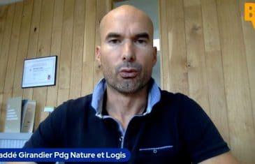 Thaddé Girandier Pdg Nature et Logis (Tous droits réservés 2021 www.labourseetlavie.com)