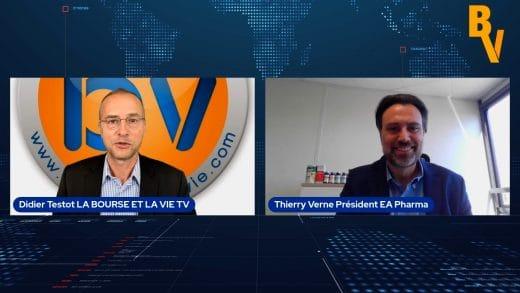 Thierry Verne Président EA Pharma (Tous droits réservés www.labourseetlavie.Com 2021)