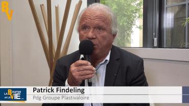 """Patrick Findeling Pdg Groupe Plastivaloire : """"Être généraliste dans l'injection plastique"""" : Résultats semestriels 2018-2019 du spécialiste de l'injection plastique"""