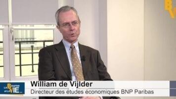 """William de Vijlder Directeur des études économiques BNP Paribas : """"Des difficultés à comprendre jusqu'où porte l'impact négatif sur l'économie"""""""