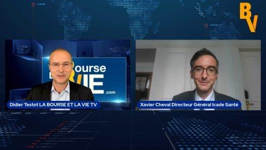 Xavier Cheval Directeur Général Icade Santé (Tous droits réservés www.labourseetlavie.com) 2021
