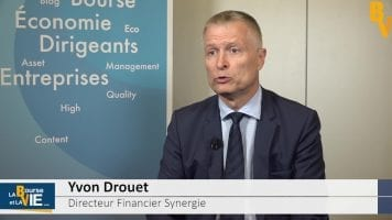 Yvon Drouet Directeur Financier Synergie : «On pense toujours à une croissance à deux chiffres pour l'ensemble de l'année»