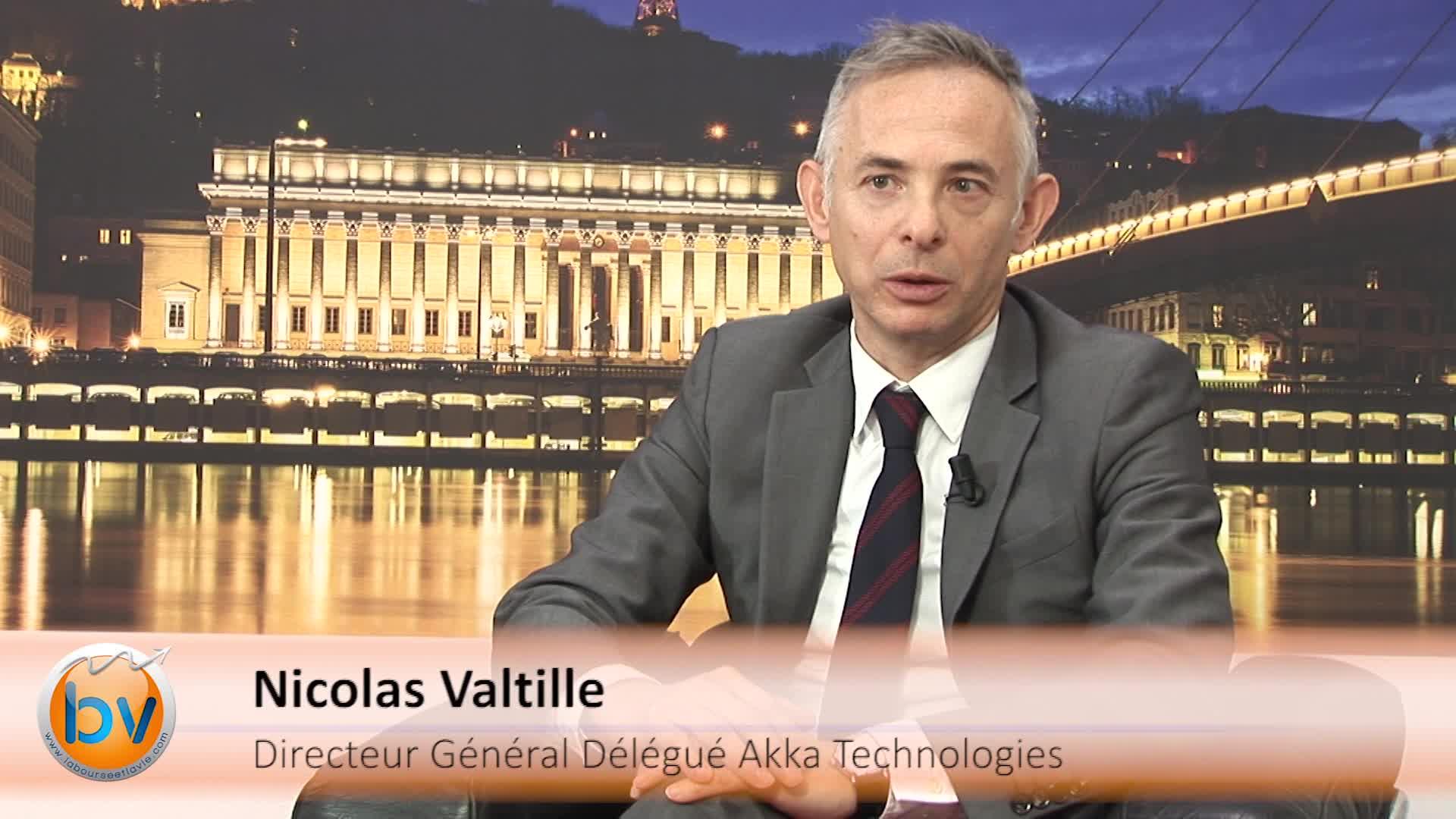 Nicolas Valtille Directeur Général Délégué Akka Technologies : «Un groupe capable de prendre des projets globaux»