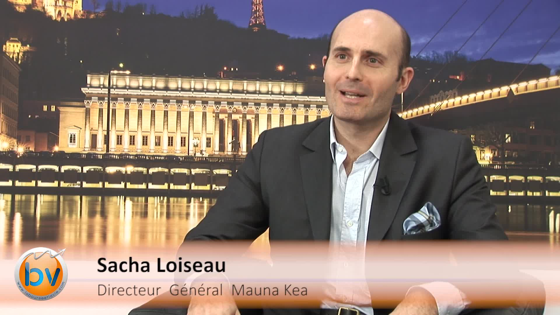 """Sacha Loiseau Directeur Général Mauna Kea Technologies : """"Une société qui aura transformé son marché"""""""