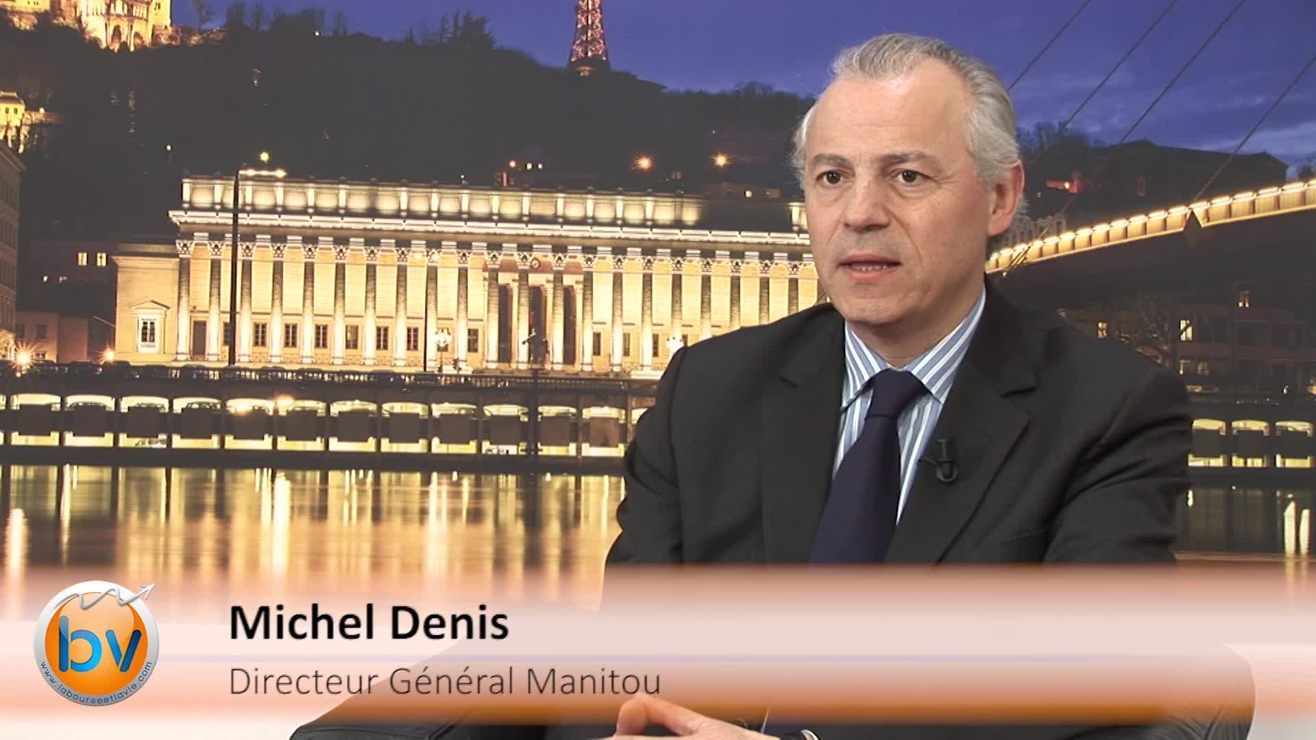 """Michel Denis Directeur Général Manitou : """"L'Europe va être notre relais de croissance cette année"""""""