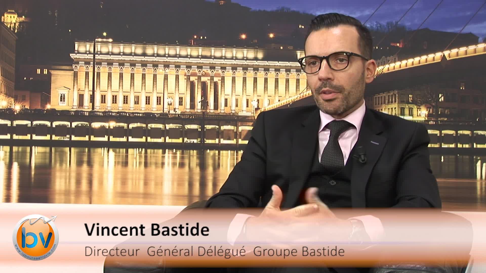 """Vincent Bastide Directeur Général Délégué Groupe Bastide : """"Délivrer une croissance de 10% ou plus reste à l'ordre du jour"""""""