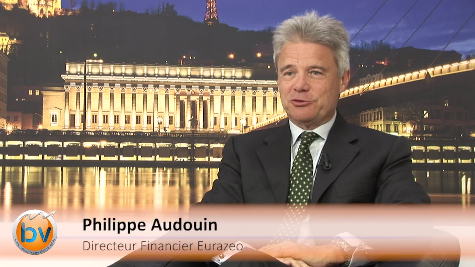 """Philippe Audouin Directeur Financier Eurazeo : """"Nous avons toujours une stratégie très diversifiée"""""""