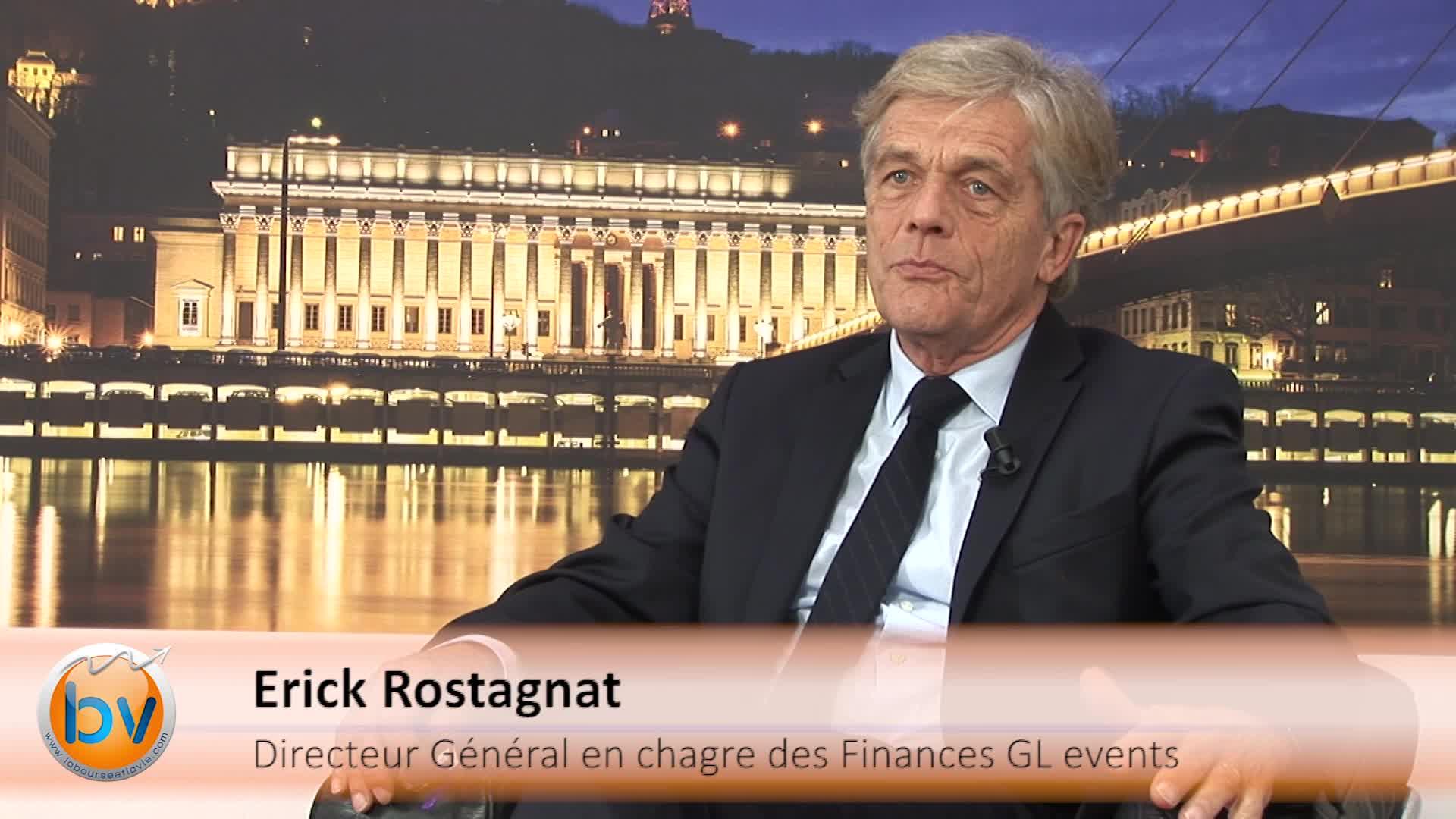 """Erick Rostagnat Directeur Général en charge des Finances GL events : """"Toujours à l'affût d'opportunités"""""""