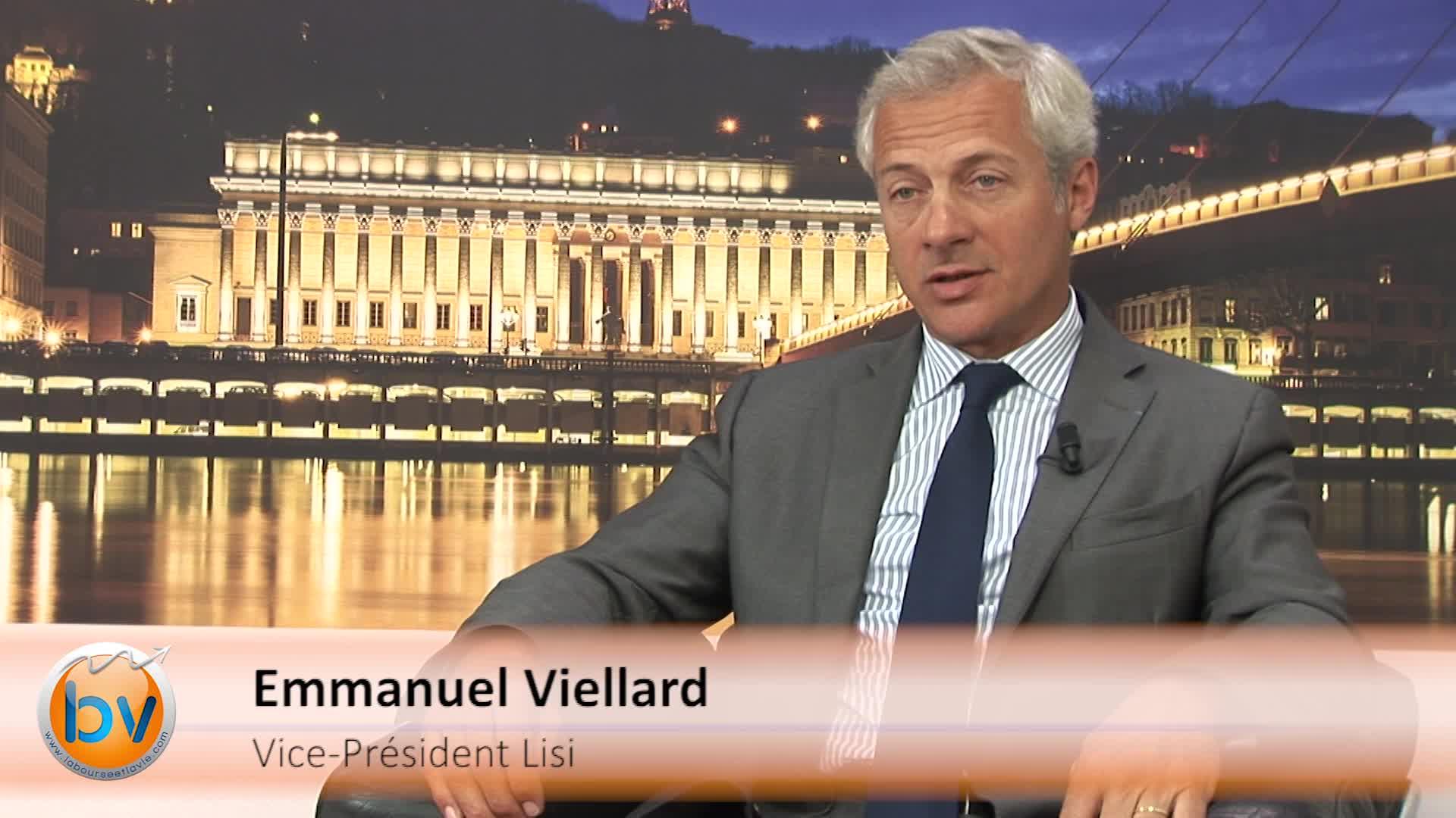"""Emmanuel Viellard Vice-Président Lisi : """"Une visibilité pour l'exercice 2016 correcte et encourageante"""""""