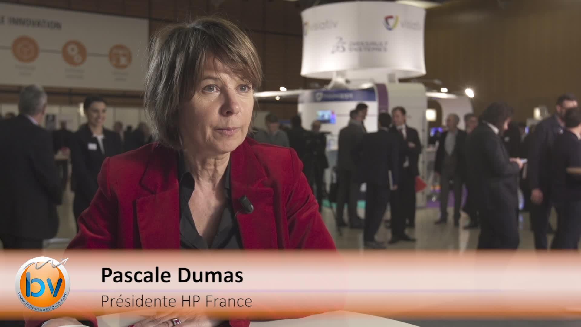 """Pascale Dumas Présidente HP France : """"La transformation numérique est porteuse de progrès et d'opportunités"""""""
