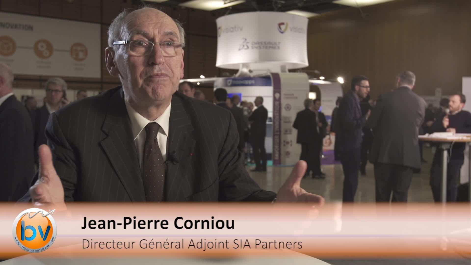 """Jean-Pierre Corniou Directeur Général Adjoint SIA Partners : """"Un des enjeux c'est aussi de changer les méthodes managériales"""""""
