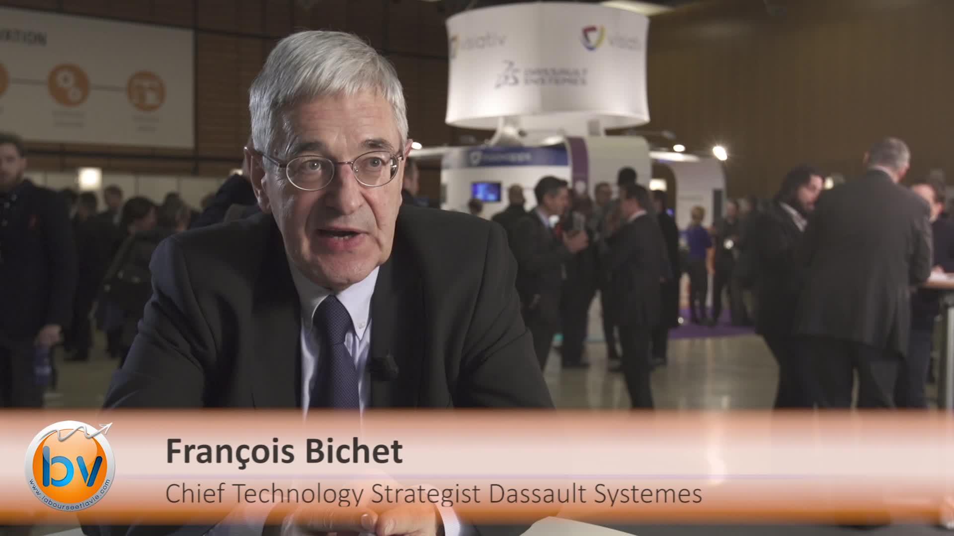 """François Bichet Chief Technology Strategist Dassault Systèmes : """"Des entreprises qui se recomposent en permanence"""""""