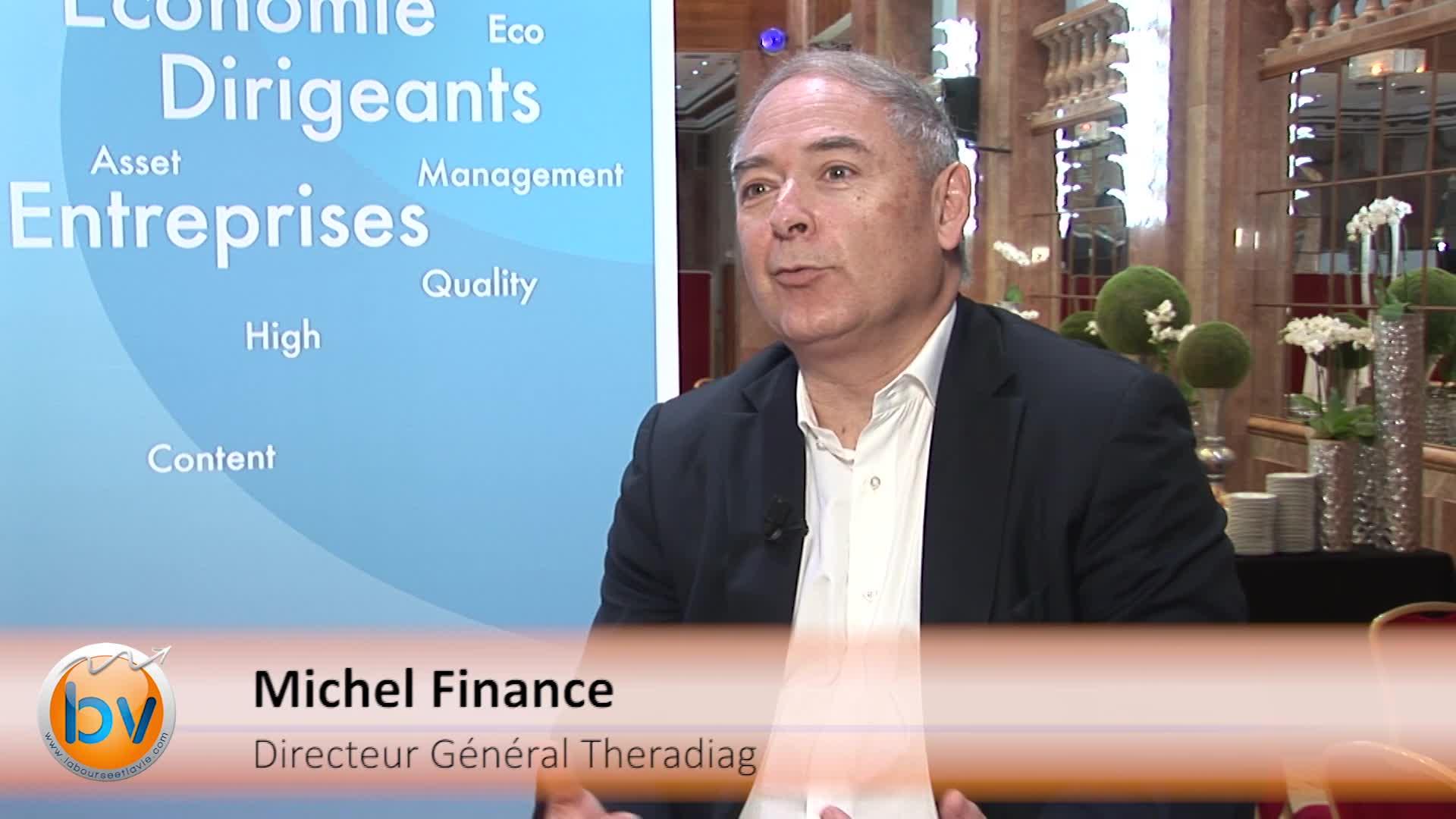 Michel Finance Directeur Général Theradiag : «Revenir à l'équilibre dans les deux ans»