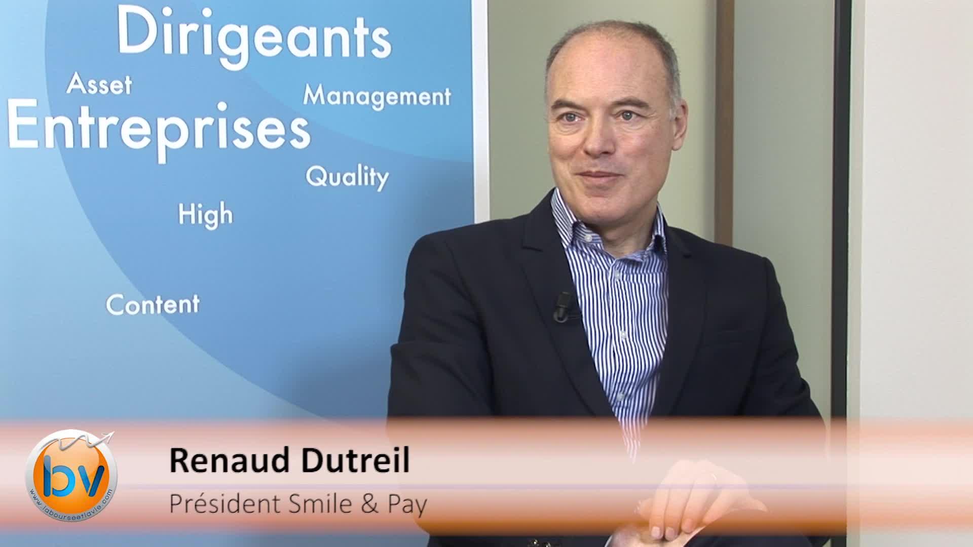 """Renaud Dutreil Président de Smile & Pay : """"Nous avons voulu démocratiser l'outil de paiement"""""""