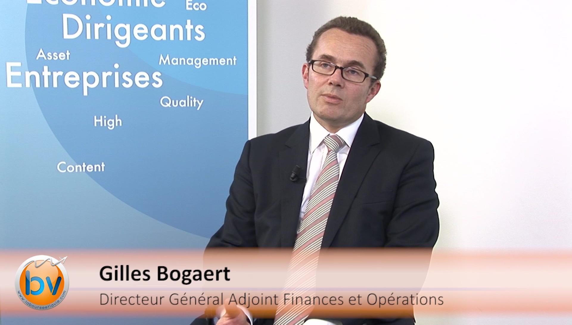 "Gilles Bogaert Directeur Général Adjoint en charge des Finances Pernod Ricard : ""On va continuer à investir"""