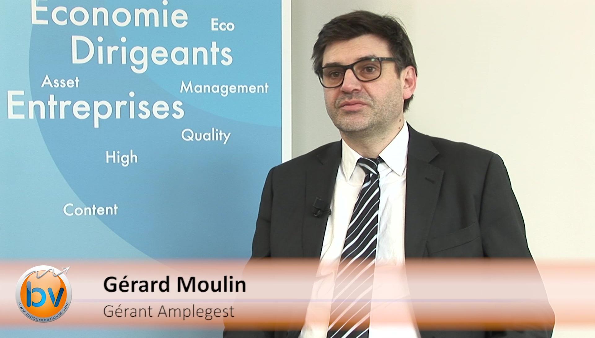 """Gérard Moulin Gérant Amplegest : """"Si on a du cash, il faut le garder"""""""