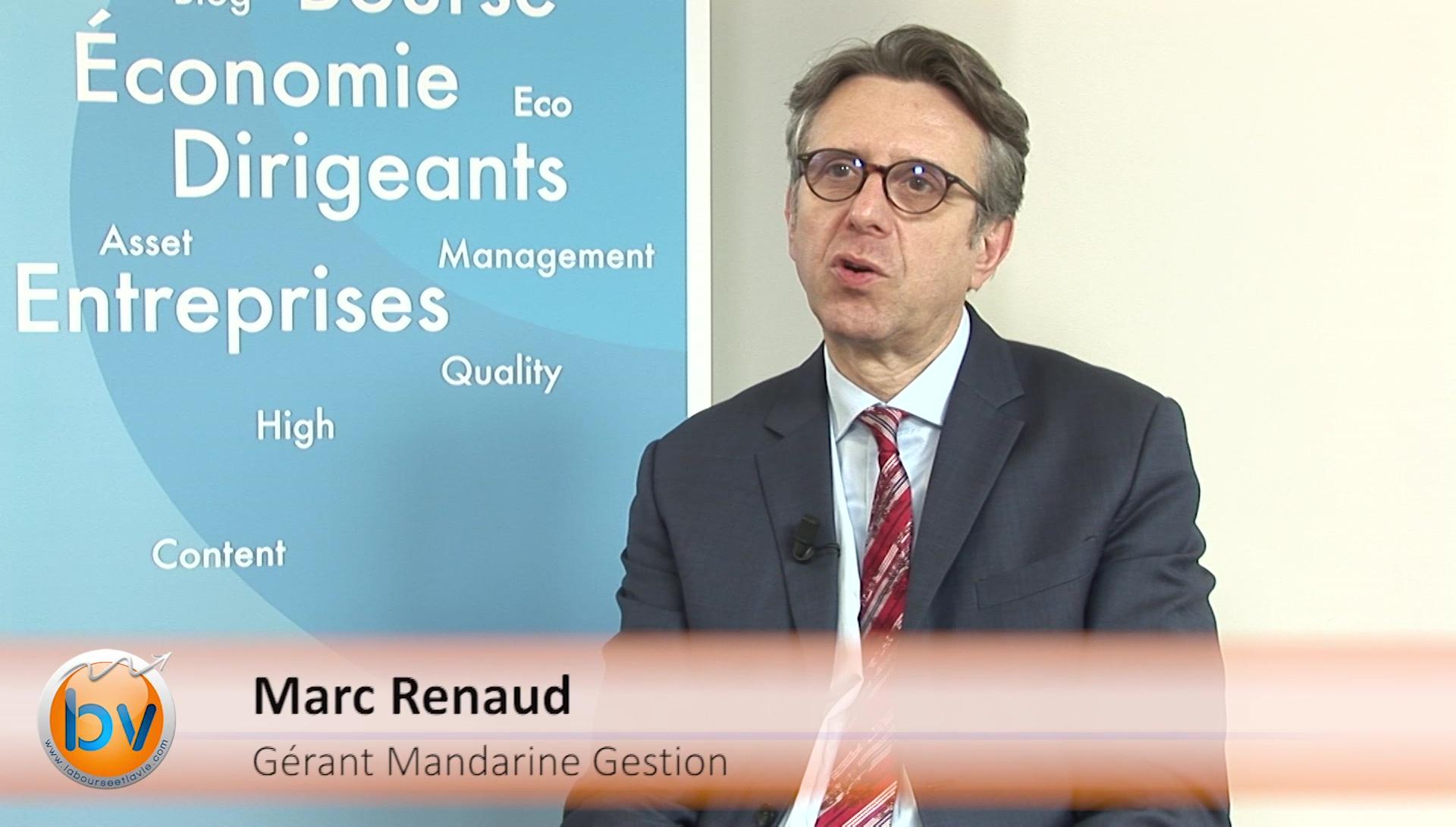 """Marc Renaud Gérant Mandarine Gestion : """"Il commence à y avoir des prix aberrants"""""""