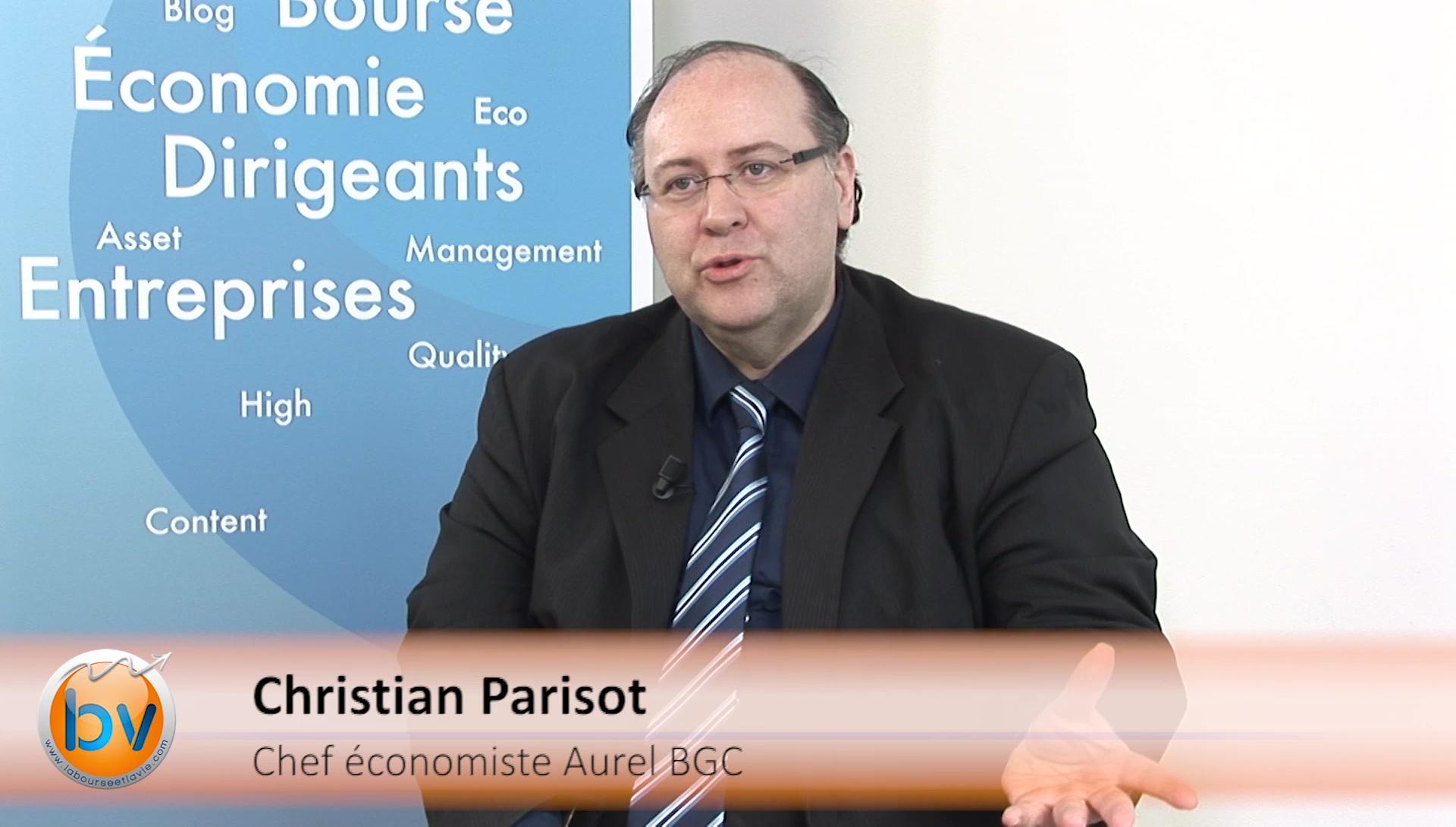 """Christian Parisot Chef économiste Aurel BGC : """"Il y a une sur-réaction du marché"""""""