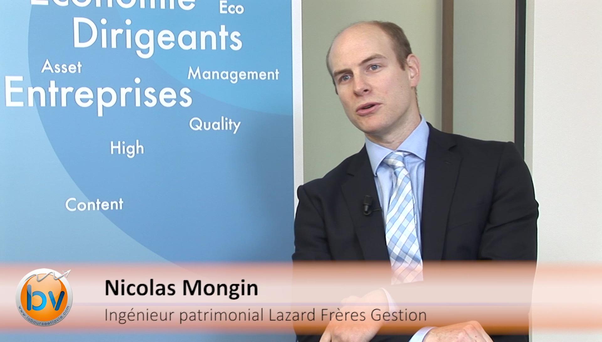 """Nicolas Mongin Ingénieur patrimonial Lazard Frères Gestion : """"Avoir une vision globale des choses"""""""