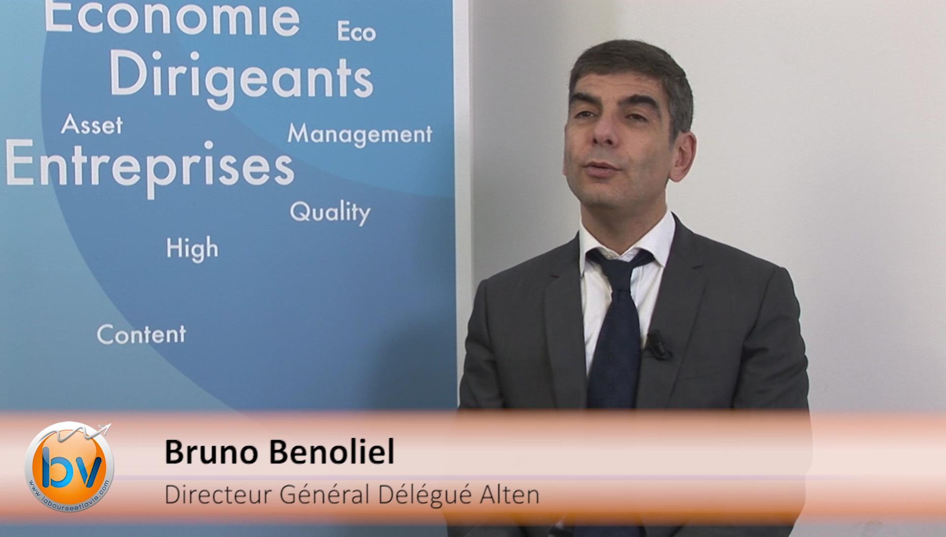 Bruno Benoliel Directeur Général Délégué Alten : «L'année 2016 se présente bien»