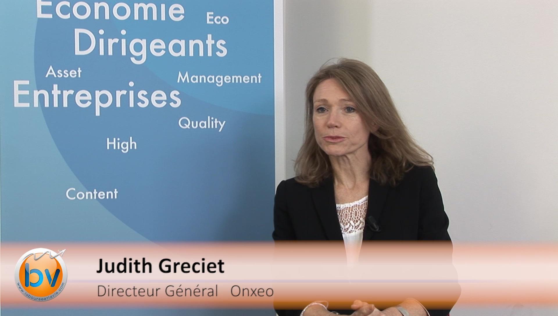 """Judith Greciet Directrice Générale Onxeo : """"Notre rôle c'est de délivrer une valeur qui in fine sera reconnue par le marché"""""""