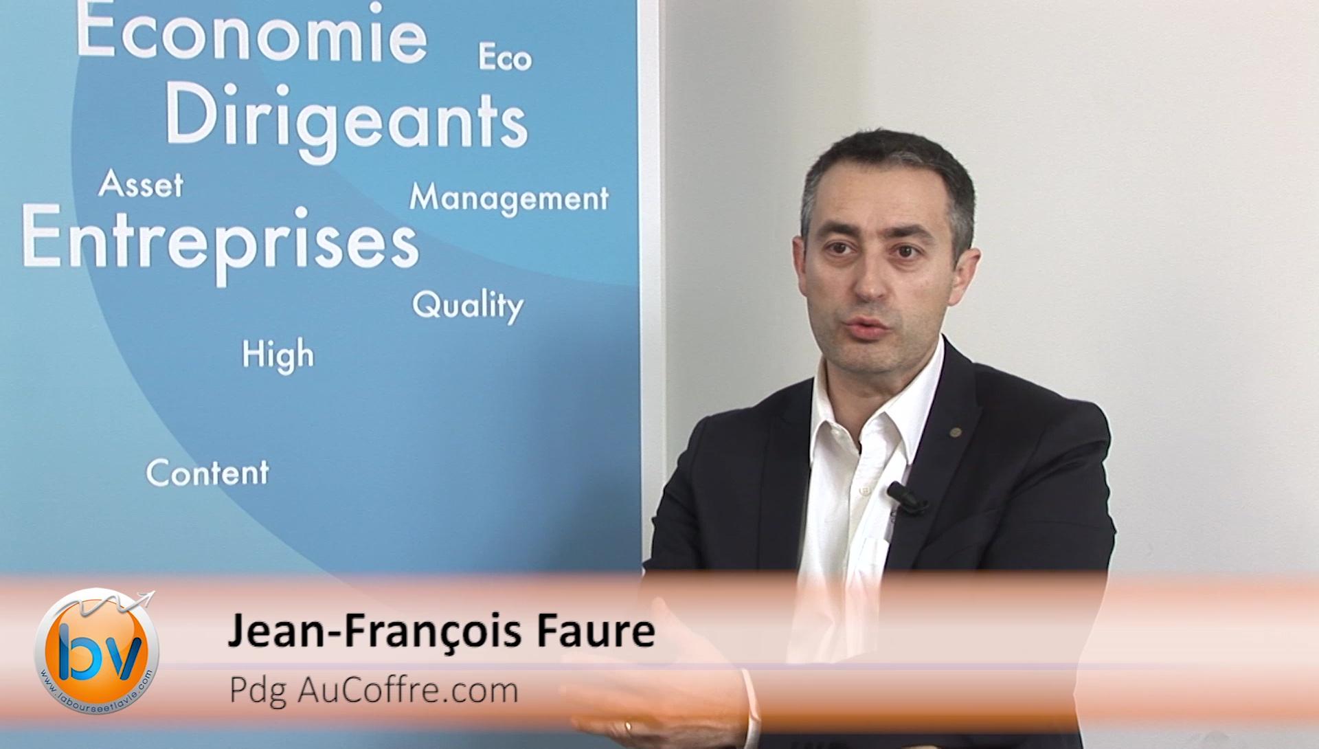 """Jean-François Faure Pdg AuCoffre.com : """"L'or est redevenu une valeur refuge"""""""