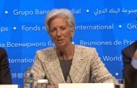 IMF chief Christine Lagarde presented the Global Policy Agenda