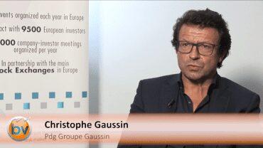 """Christophe Gaussin Pdg Groupe Gaussin : """"L'enjeu est de pouvoir livrer le carnet de commandes"""" : Stratégie et perspectives du spécialiste des engins de manutentions portuaires"""